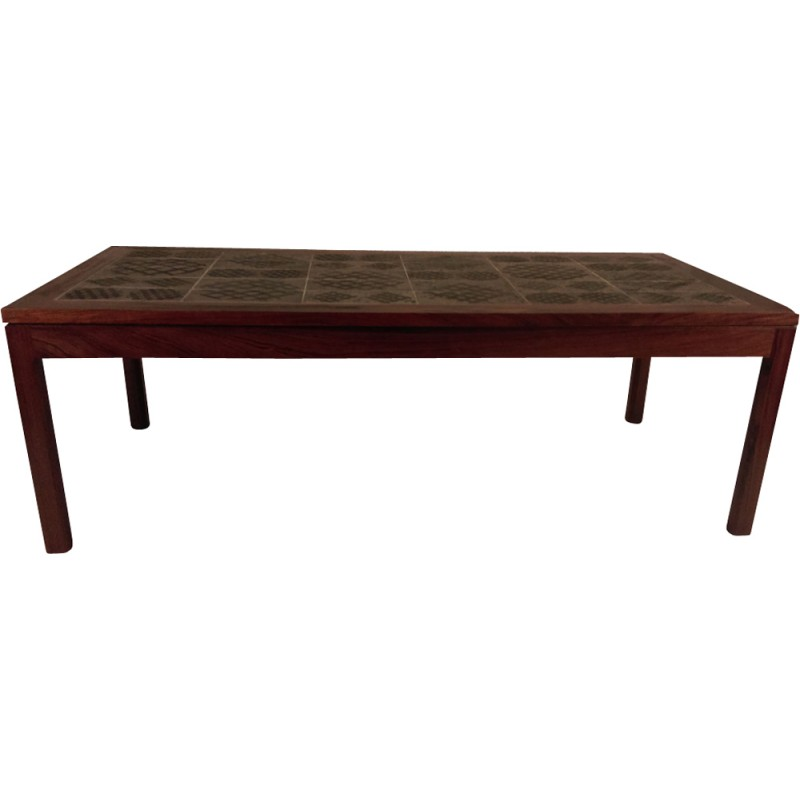 Coffee Table in Rosewood by Tue Poulsen - 1960s