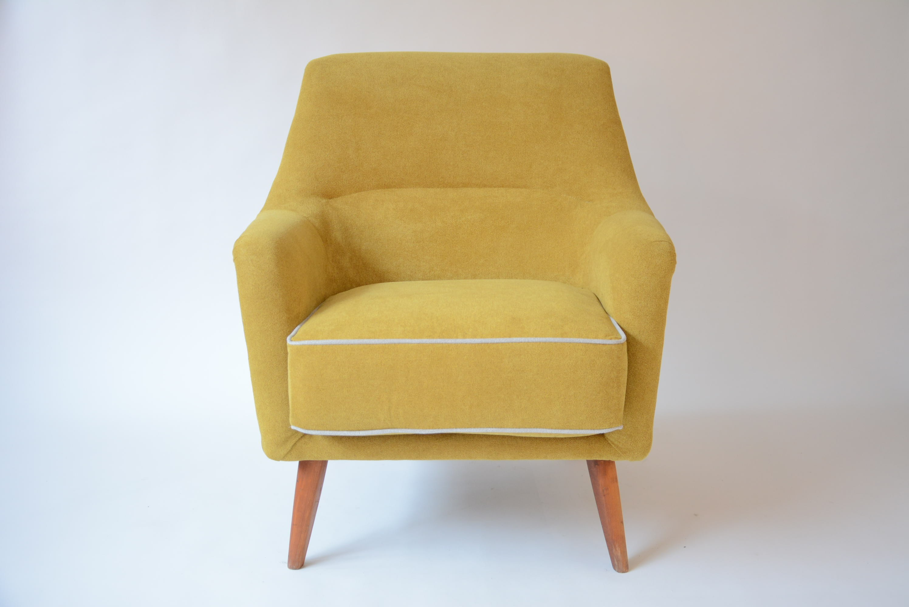 Vintage German Yellow Armchair 1960s Previous Next