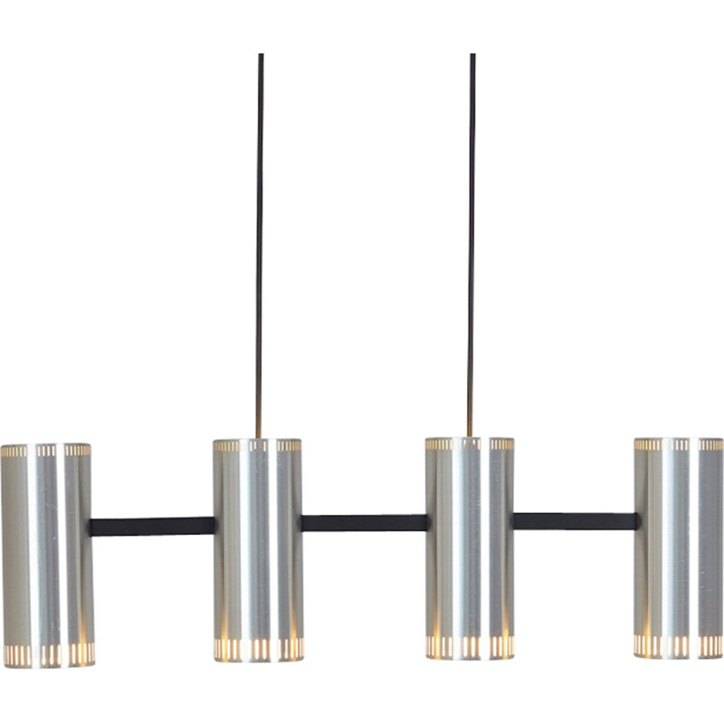 Pendant lamp Cylinder IV by Jo Hammerborg - 1960s