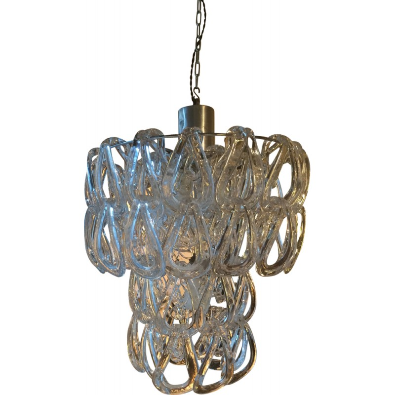 Crystal giogali chandelier by angelo mangiarotti for vistosi crystal giogali chandelier by angelo mangiarotti for vistosi 1960s aloadofball Images