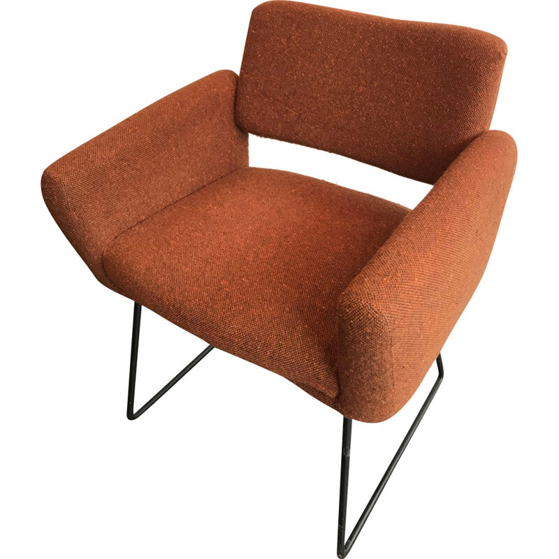 763 Model armchair by Joseph-André Motte for Steiner - 1958