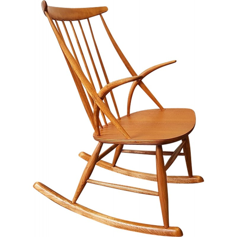 Rocking Chair by Illum Wikkelsø - 1958