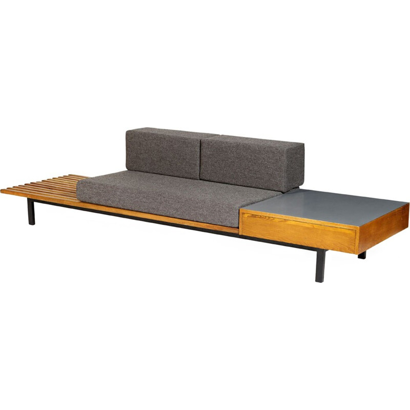 "Vintage french ""Cansado"" Bench by Charlotte Perriand - 1950s"