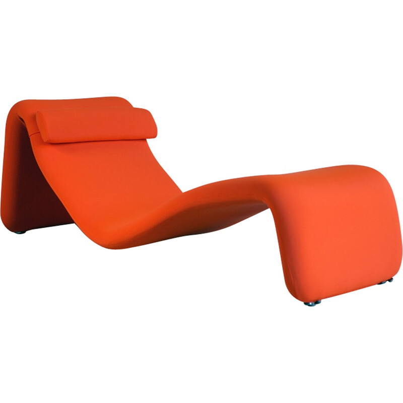 "Chaise longue ""Djinn"" by Olivier Mourgue for Airborne - 1960s"