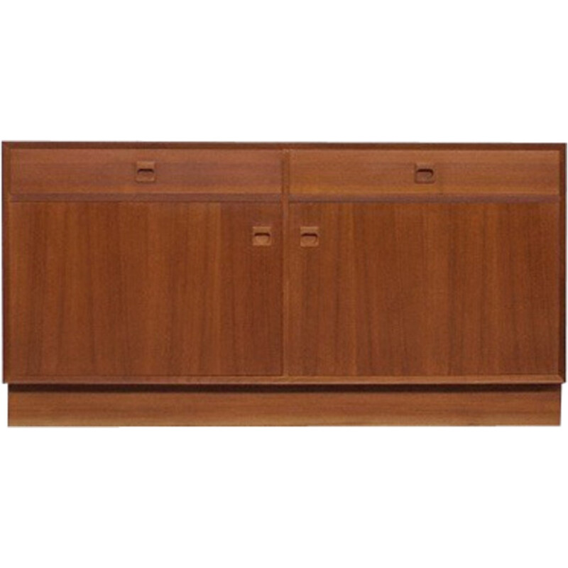 Teak sideboard by Erik Brouer for Mobelfabrik - 1960s