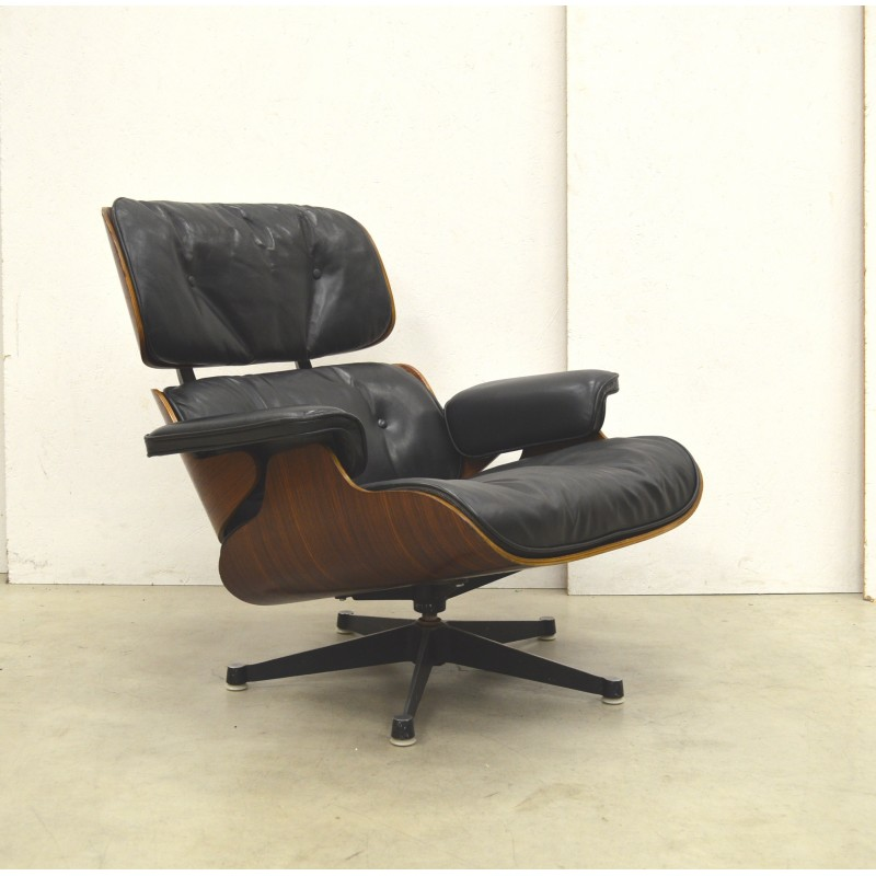 1st Edition Eames Lounge Chair Amp Ottoman By Herman Miller