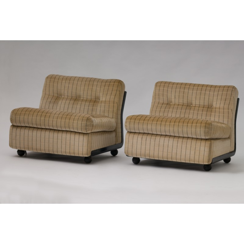 Pair Of Amanta Chairs By Mario Bellini For B B Italia 1970s