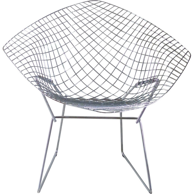 Diamond chair by Harry Bertoïa for Knoll - 1990s