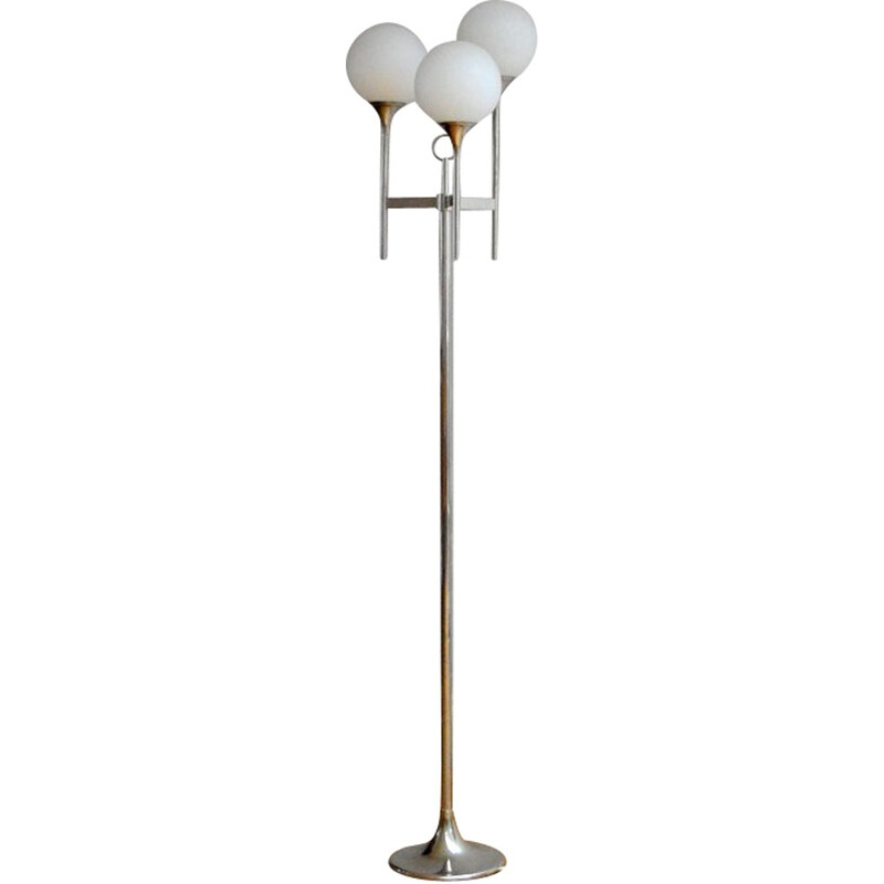 Floor lamp by Gaetano SCIOLARI - 1970s