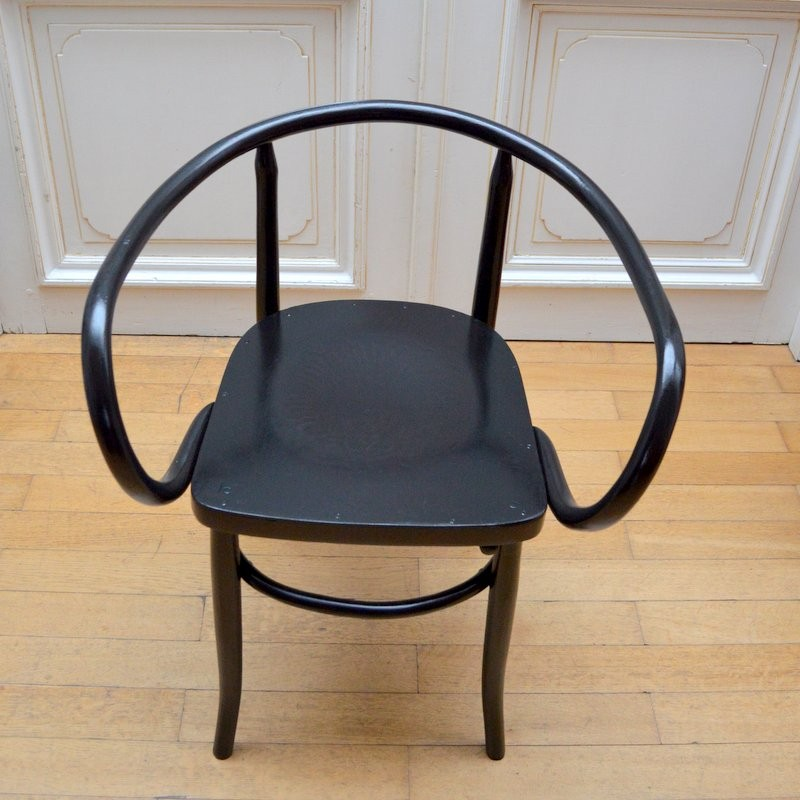 Astounding Thonet Chair In Vintage Bent Wood 1940S Gmtry Best Dining Table And Chair Ideas Images Gmtryco