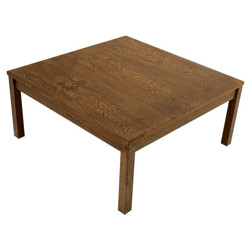 Square coffee table in wenge, Martin VISSER - 1960s