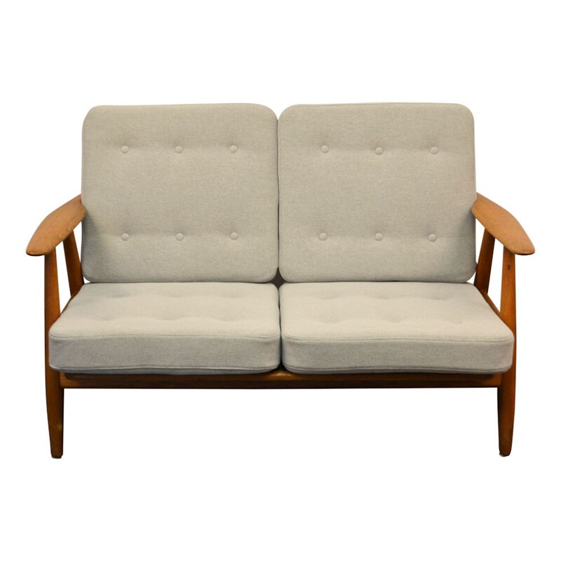 Vintage Danish Sofa in oak GE-240 by Hans J. Wegner for Getama - 1950s