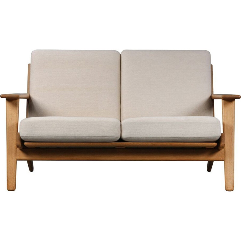Danish GE-2902 oak sofa by Hans J. Wegner for Getama - 1950s
