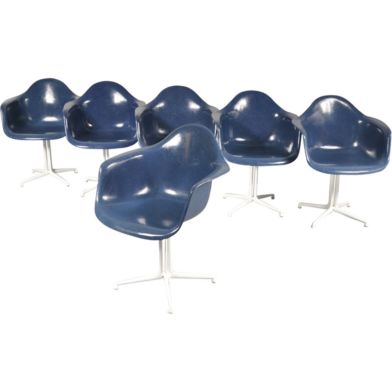 Blue Chairs Lafonda by Charles Eames, Charles & Ray EAMES - 1960s