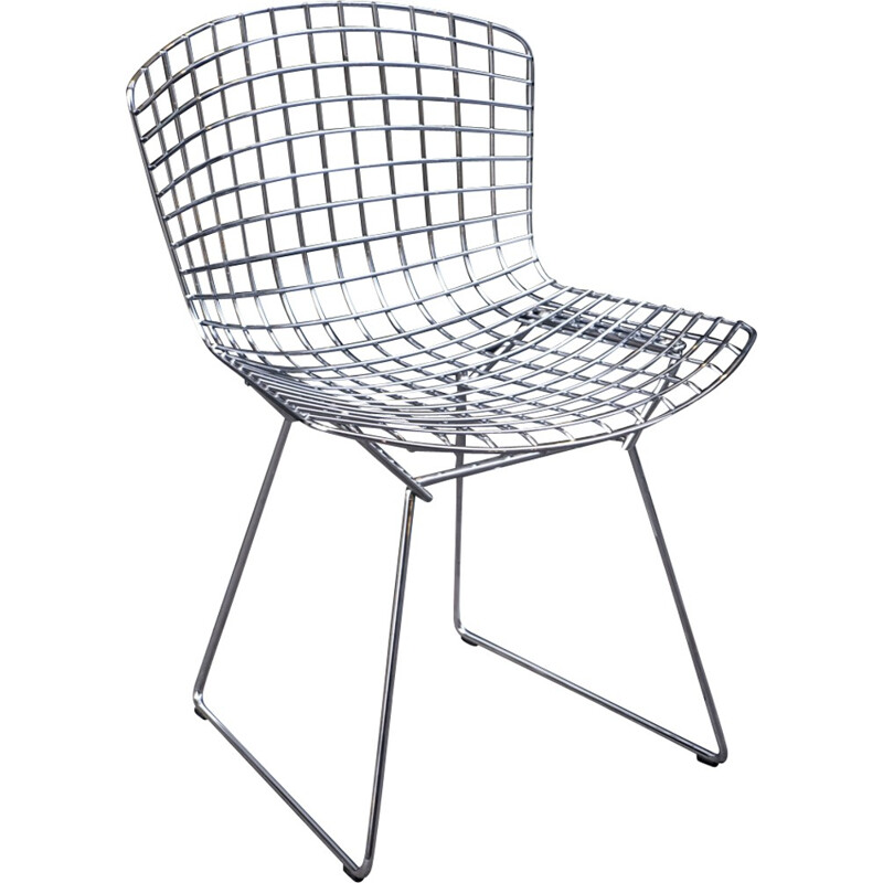Wire chair by Harry Bertoia for Knoll - 2000s