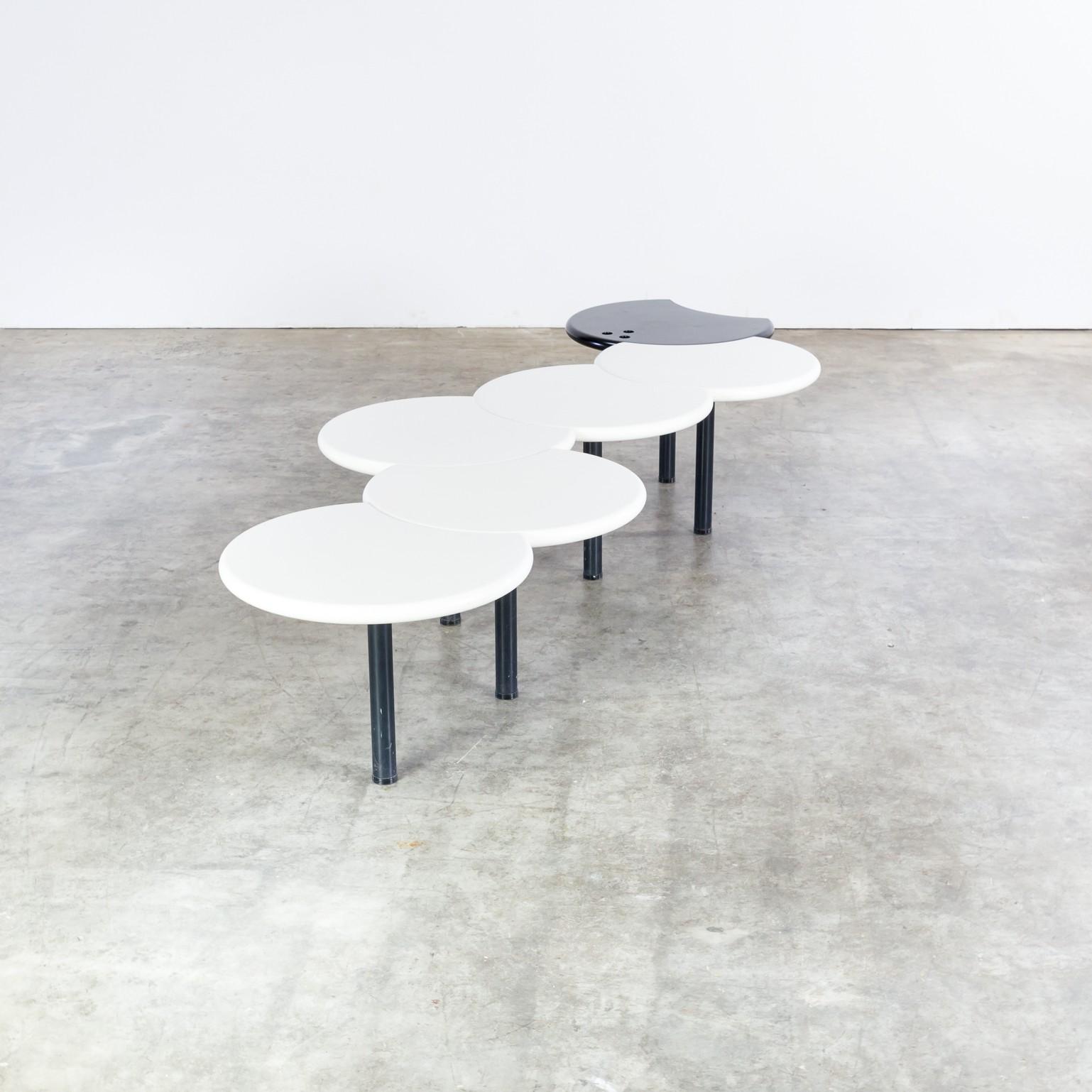 Modular snake adjustable coffee table 1980s Design Market