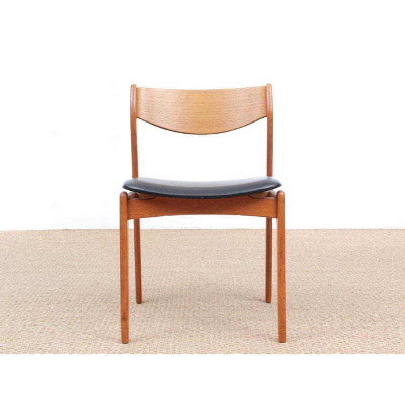 Superbe Scandinavian Desk Chair By P. E. Jorgensen For Farsø Stolefabrik   1960s    Design Market