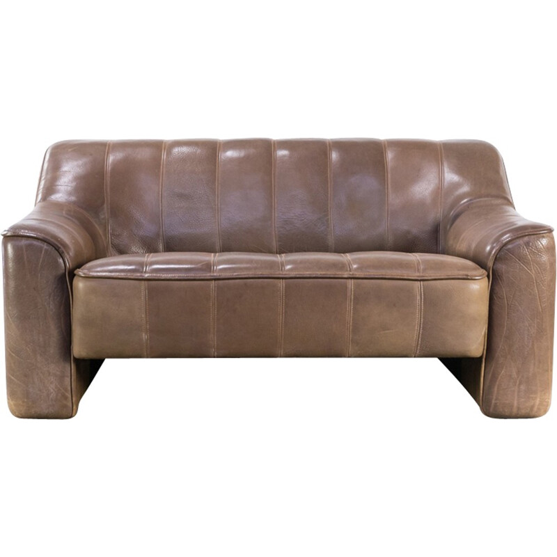 DeSede DS44 double seat sofa adjustable seating - 1970s