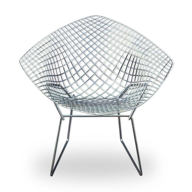 """Diamond"" armchair by Harry Bertoia for Knoll - 2000s"