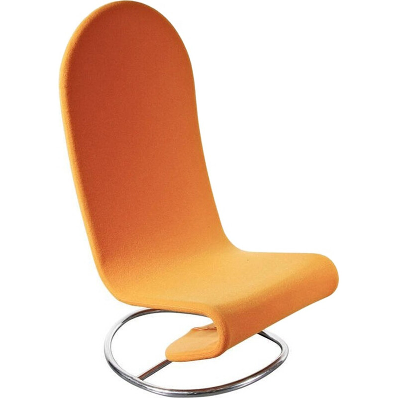 1-2-3 Rocking easychair by Verner Panton for Fritz Hansen - 1970s