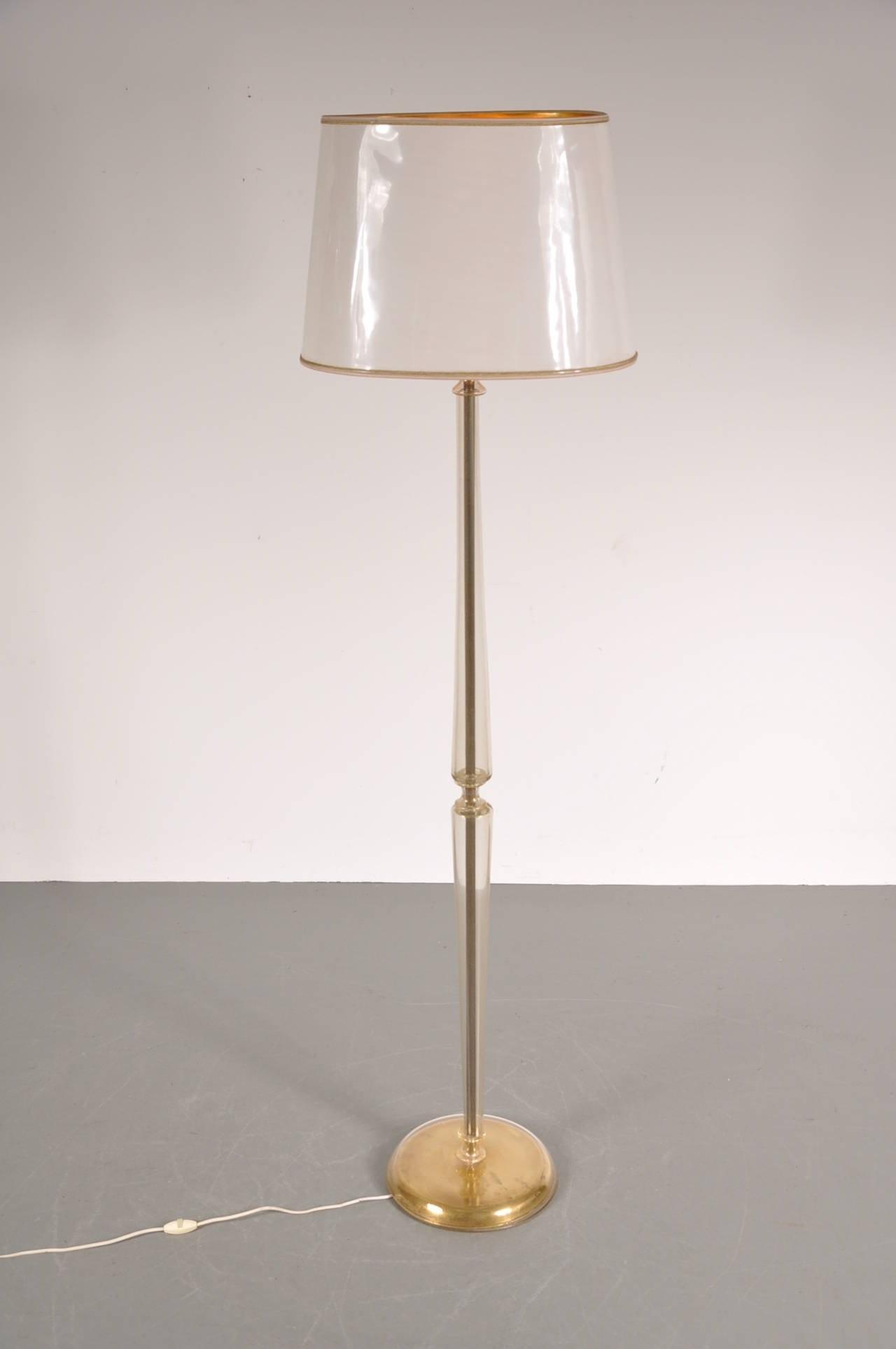 Vintage Murano Glass Floor Lamp 1940s Design Market