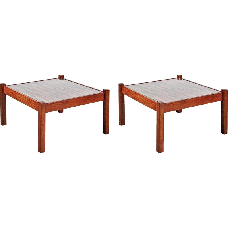 Pair of Coffee Tables by Percival LAFER - 1960s