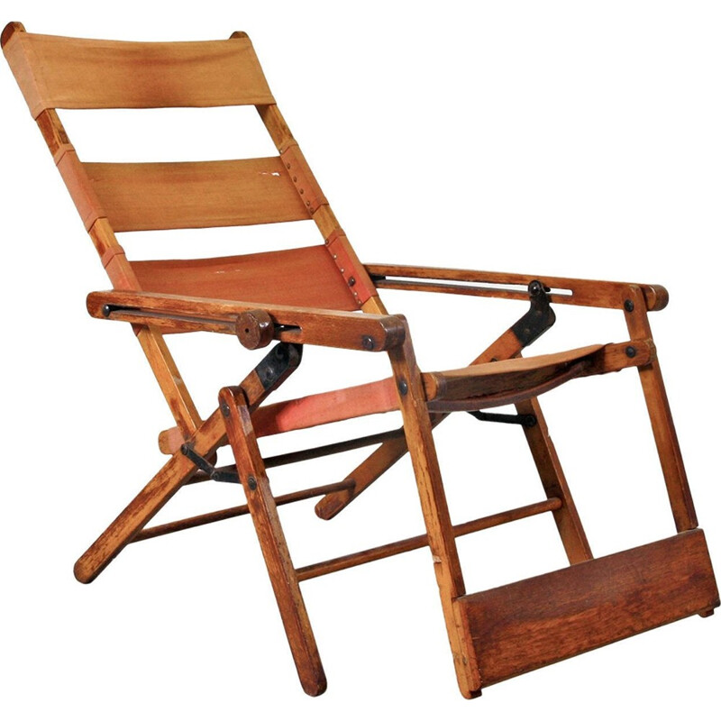 Deck Chair Model 480 by Thonet - 1930s
