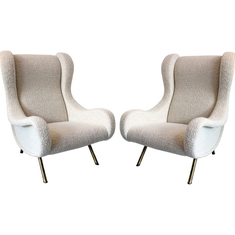 Pair of Senior armchairs by Marco Zanuso for Arflex - 1950s