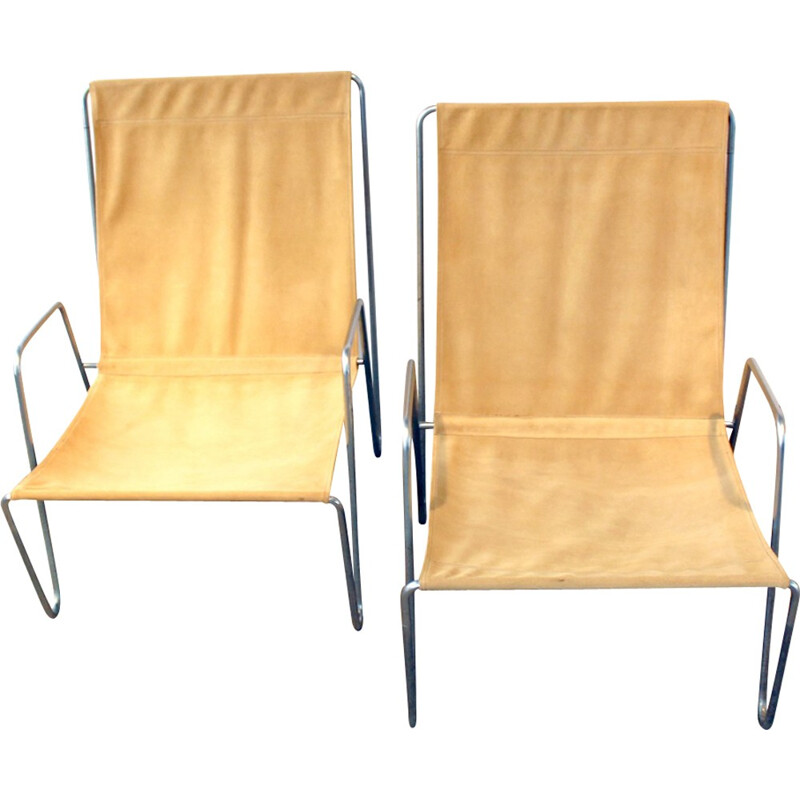 Pair of Bachelor armchairs by Verner Panton - 1950s
