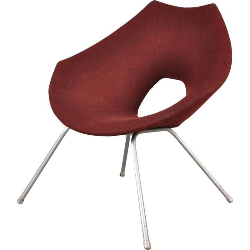 Easy Red Chair by Augusto BOZZI - 1950s