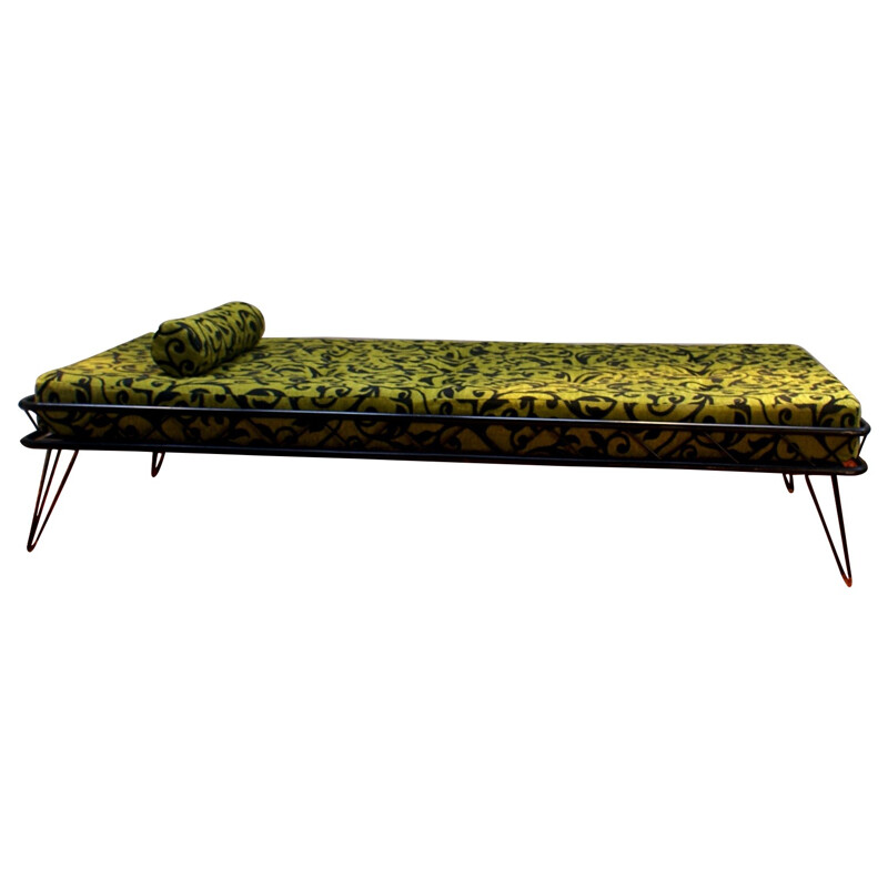 Daybed in metal and fabric, Wim RIETVELD - 1950s