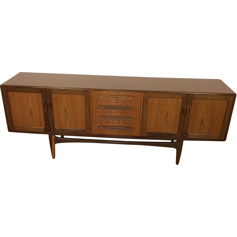 Vintage sideboard credenza by V.B Wilkins for Gplan - 1960s