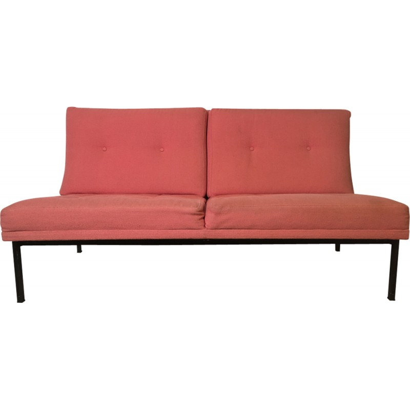 """Sofa Bench """" Parallel bar """" by Florence Knoll - 1960s"""