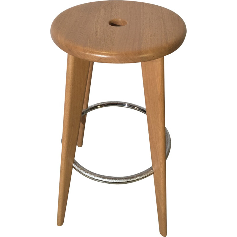 Bar stool by Jean Prouvé for Vitra - 2002