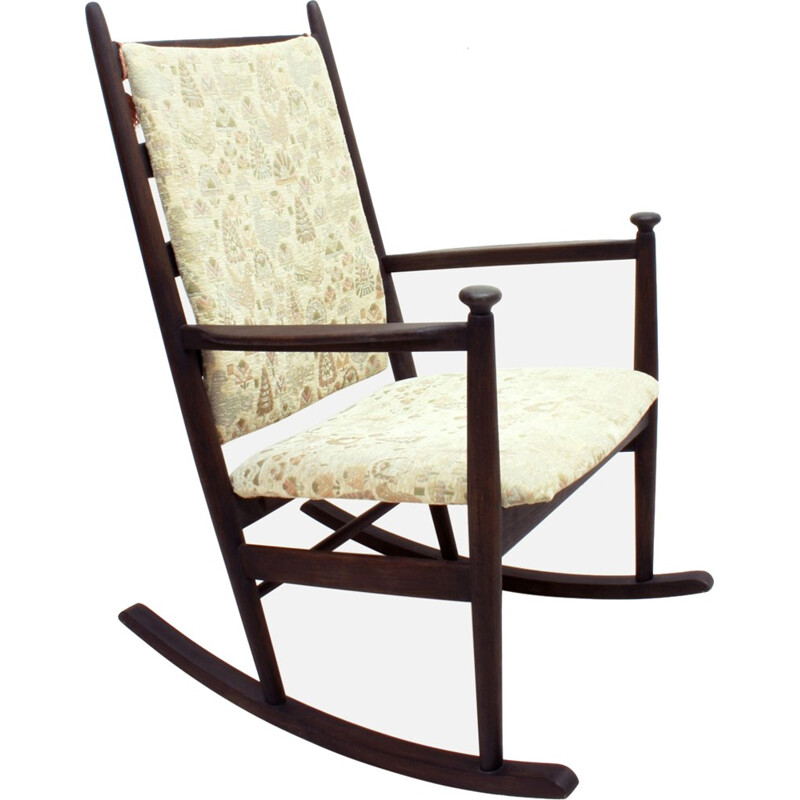 Swedish vintage Rocking Chair by Poul M.Volther for Gemla - 1950s