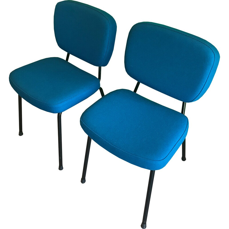 Pair of CM196 chairs by Pierre Paulin for Thonet - 1960