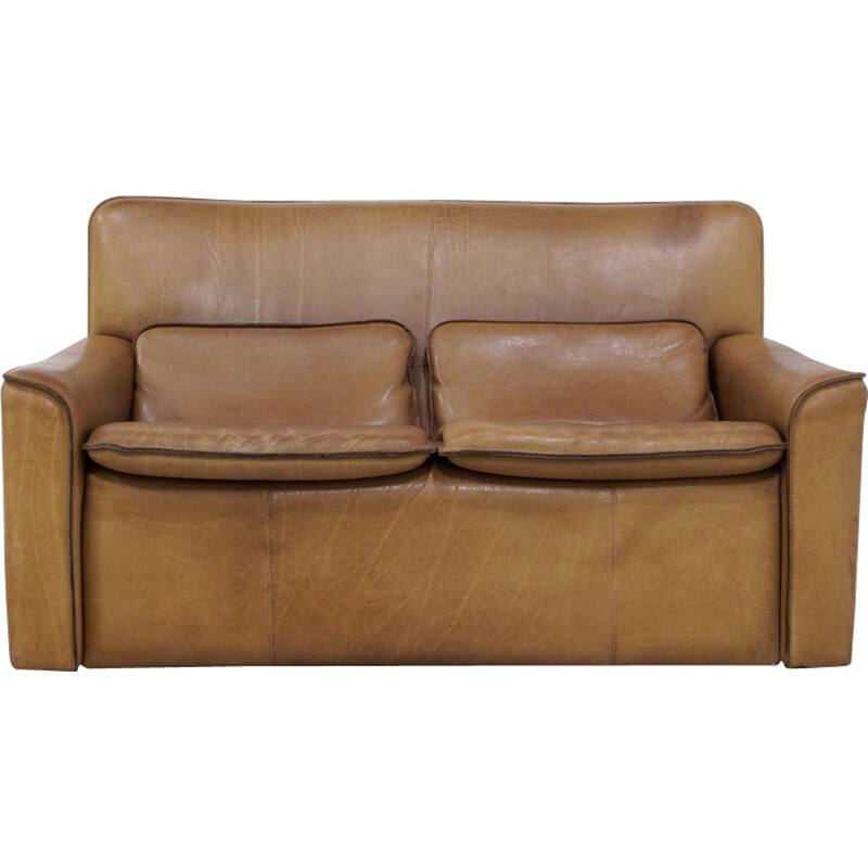 2-Seater leather Sofa by Leolux - 1970s