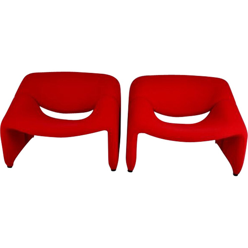 """Groovy"" armchair by Pierre Paulin - 1970s"