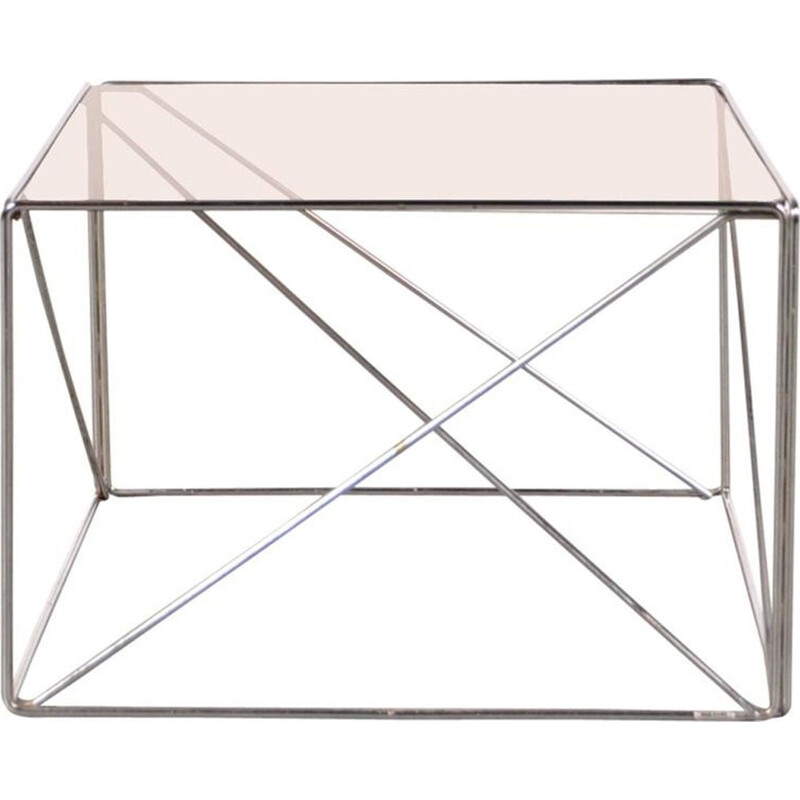 """""""Isocele"""" side coffee table by Max Sauze - 1970s"""