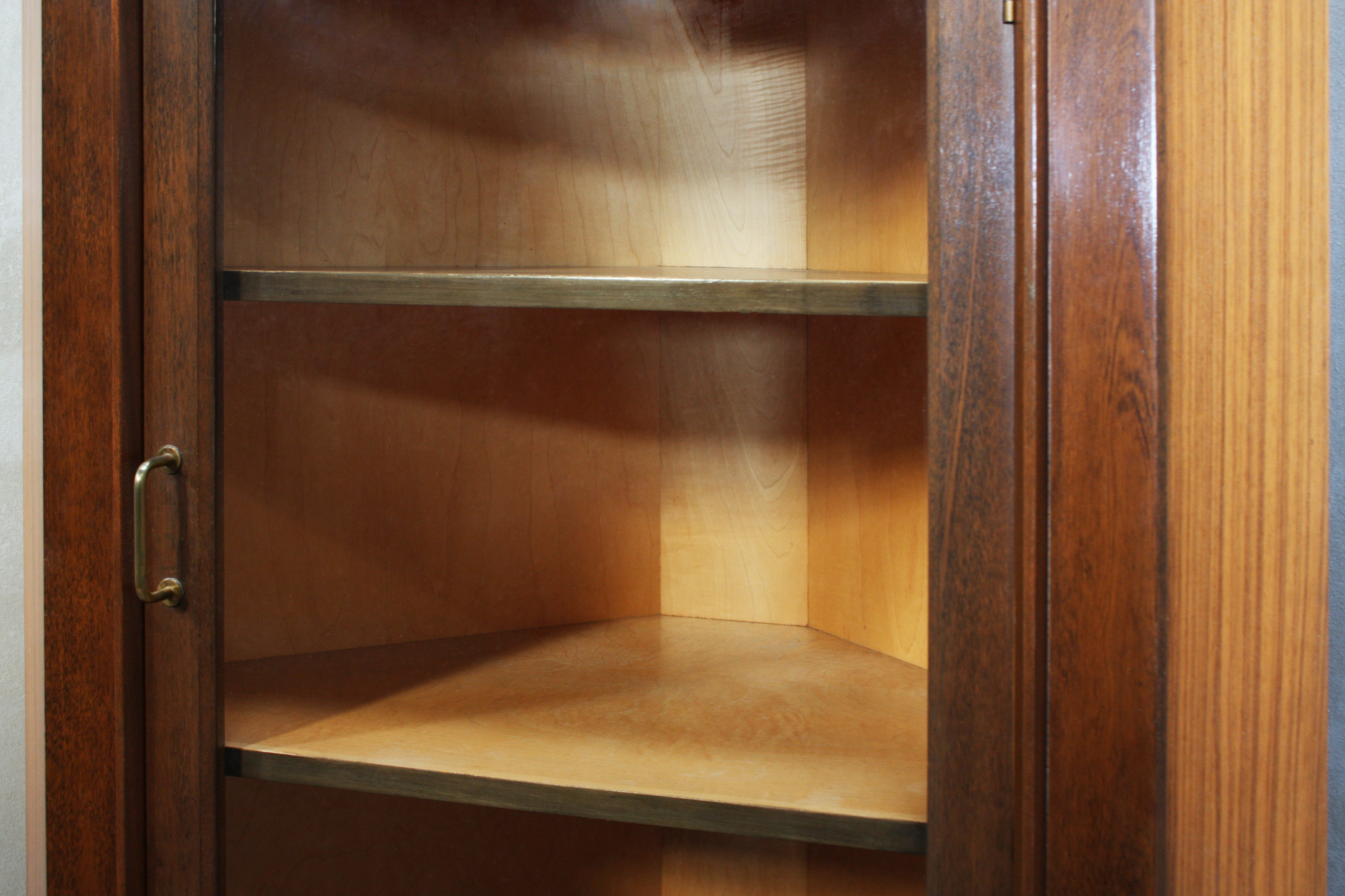 mahogany cocktail flamed bar cupboard dry scottish cabinet antiques vintage corner
