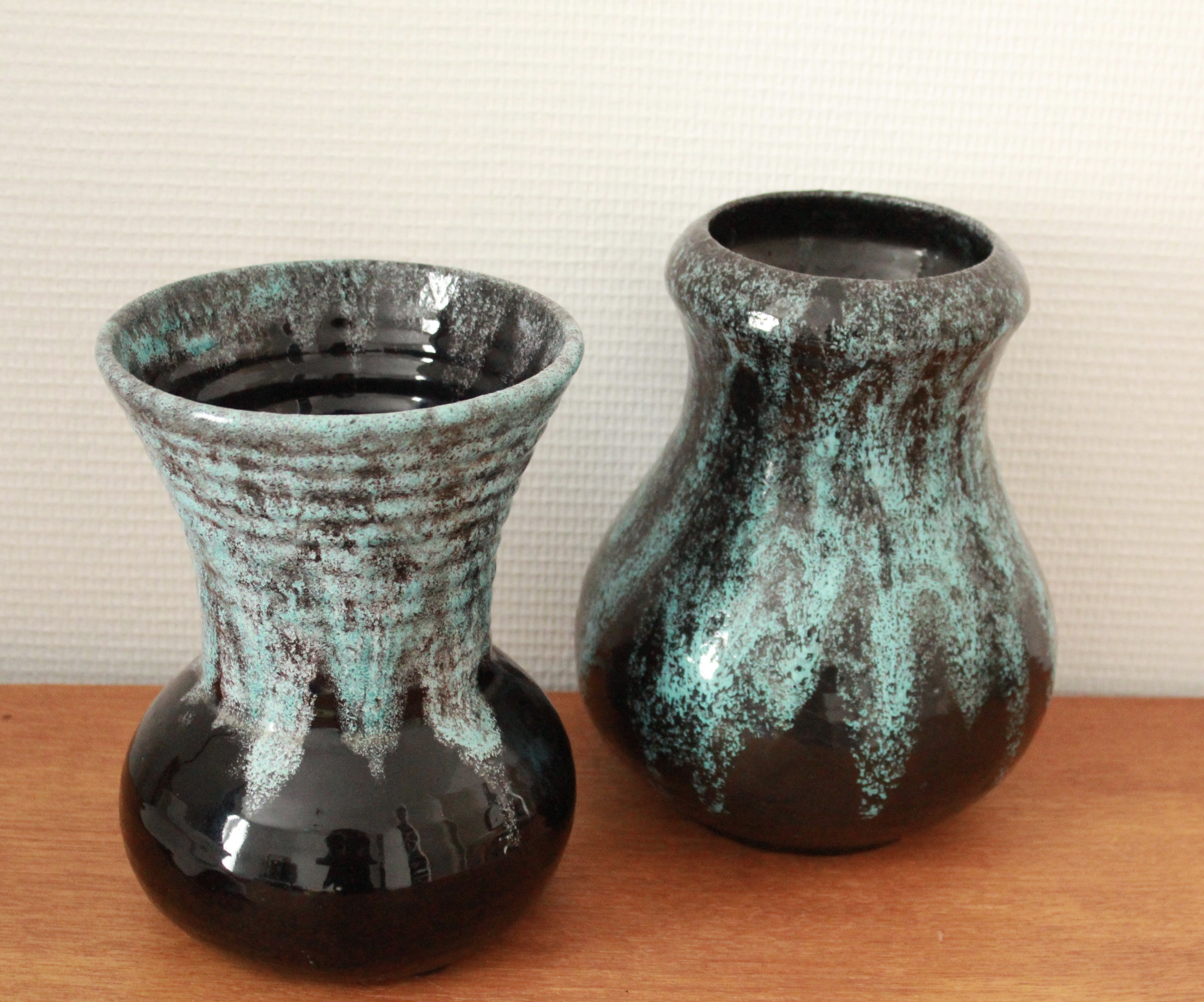 Pair of two vintage vases by accolay 1960s design market previous next reviewsmspy