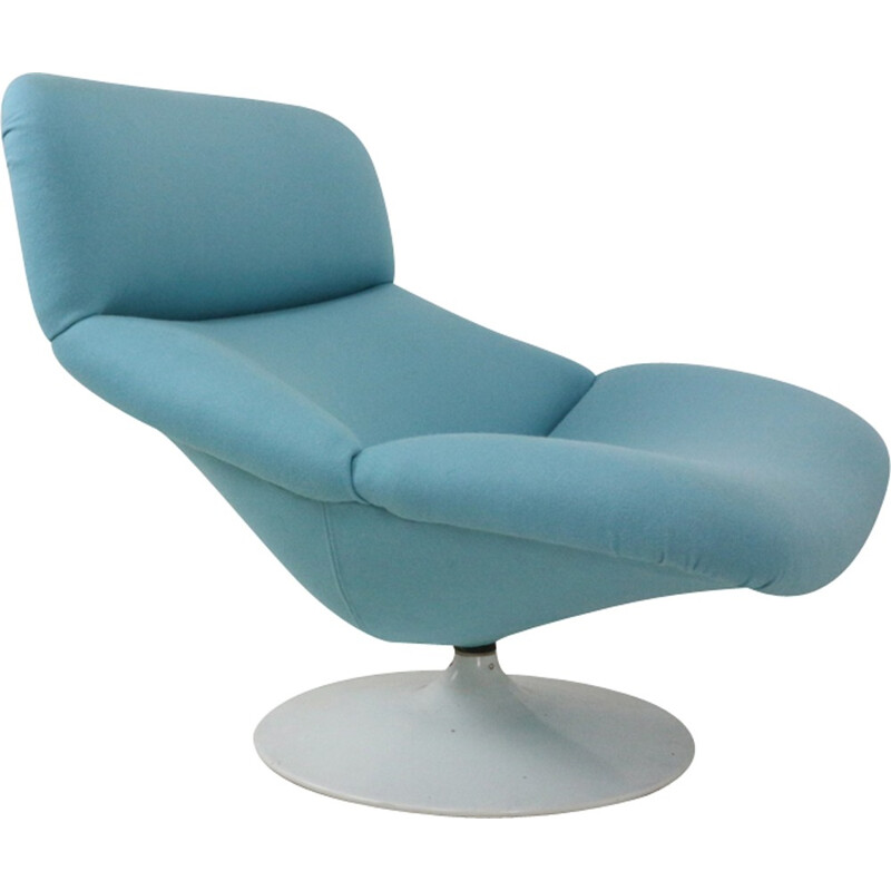 Artifort F518 Lounge Swivel Chair by Geoffrey Harcourt - 1970s