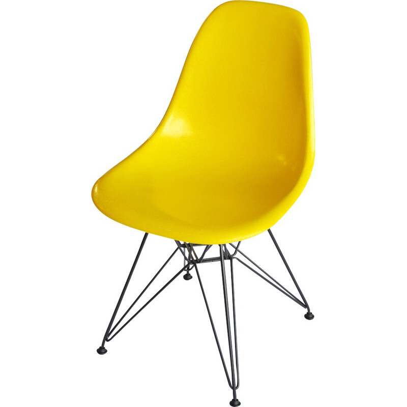 DSR dining chair by Charles & Ray Eames for Herman Miller - 1970s