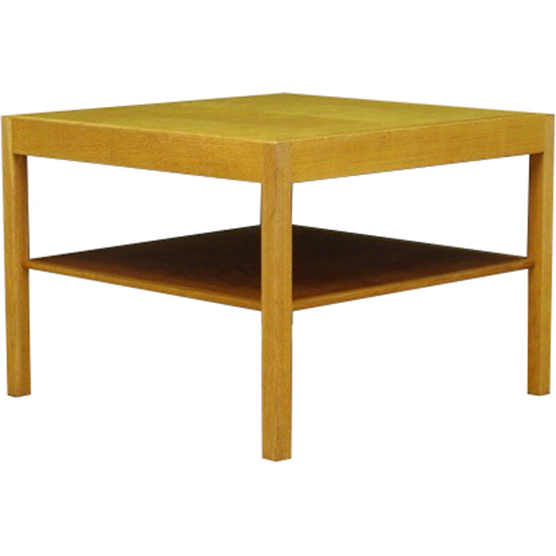Classic coffee table in ash by Hans j. Wegner for Andreas Tuck - 1960s