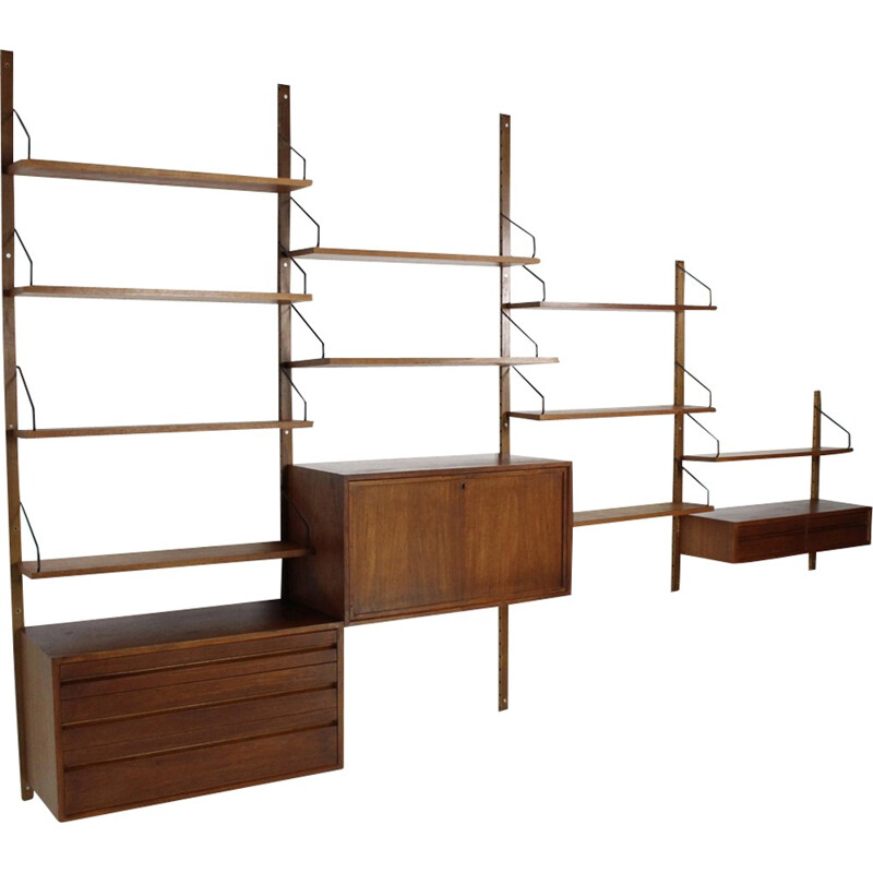 Royal System wall unit by Pool Cadovius for Cado Denmark - 1960s