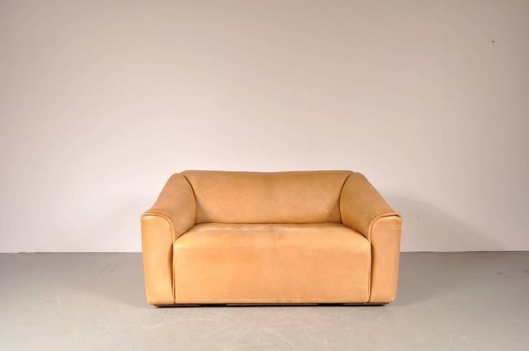 pair of vintage ds 47 sofas by de sede 1960s design market. Black Bedroom Furniture Sets. Home Design Ideas