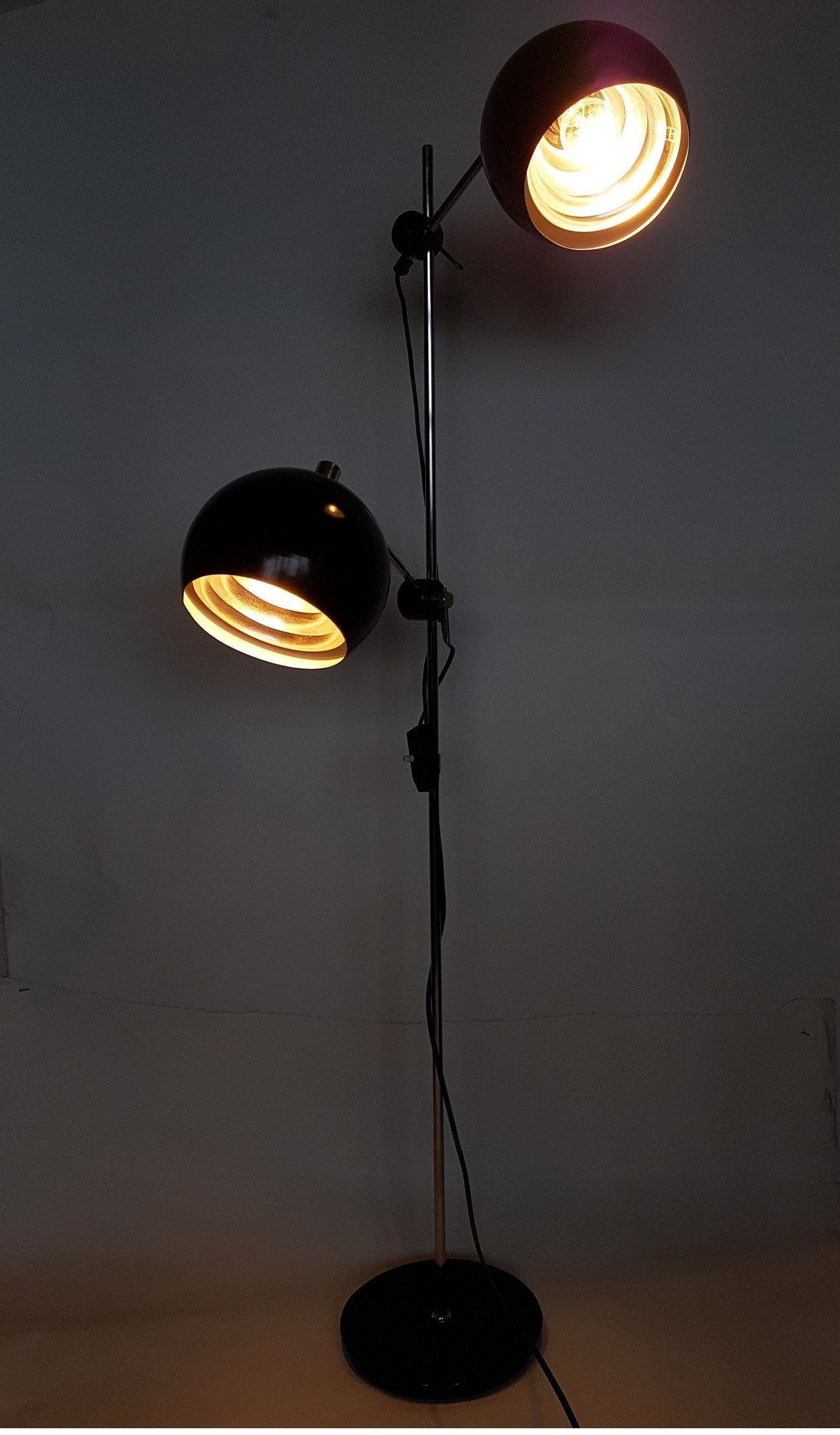 Vintage German floor lamp from VEB - 1960s - Design Market