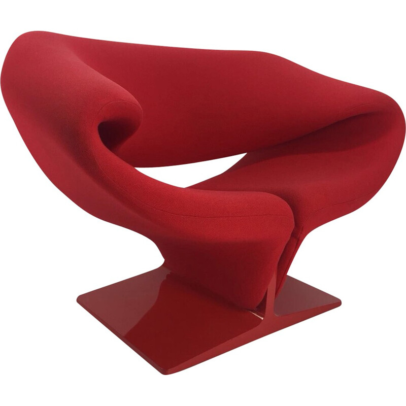Vintage 'Ribbon' armchair by Pierre Paulin for Artifort - 1970s