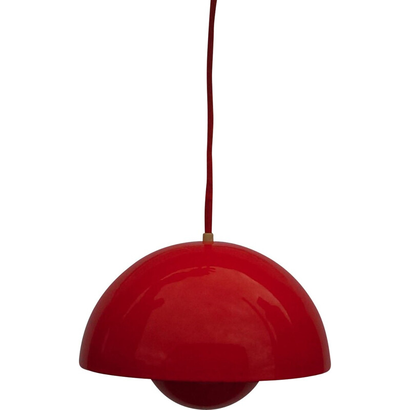 Flowerpot Pendant Light by Verner Panton for Louis Poulsen - 1960s