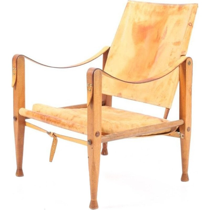Safari chair by Maa. Kaare Klint for Rud Rasmussen - 1960s